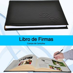 Libro de Firmas Albumes Da Vinci