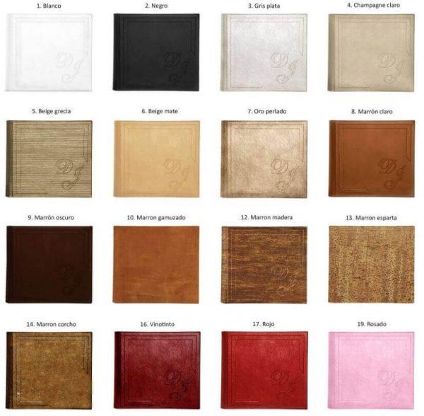 Colocres Portadas Albumes Da Vinci Photobook Tradicional Libro de Firmas Revista