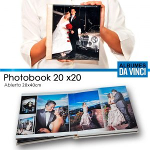 Albumes Fotograficos Da Vinci Photobook 20x20